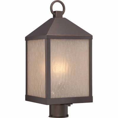 Filament Design 1-Light Mahogany Bronze Outdoor Post Light