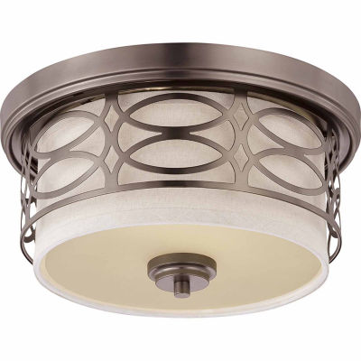 Filament Design 2-Light Hazel Bronze Flush Mount