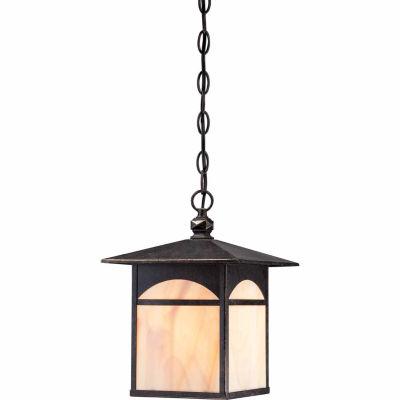 Filament Design 1-Light Umber Bronze Outdoor Hanging Lantern