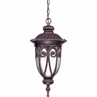 Filament Design 1-Light Burlwood Outdoor Hanging Lantern
