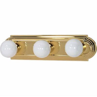 Filament Design 3-Light Polished Chrome Bath Vanity