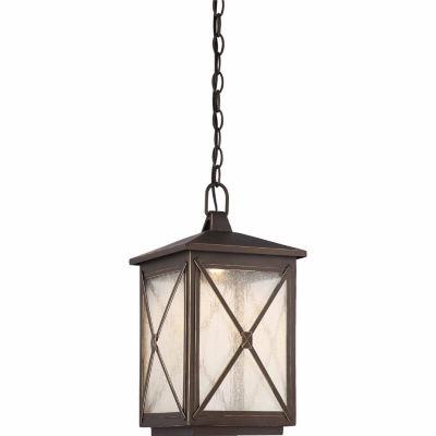 Filament Design 1-Light Umber Bay Outdoor HangingLantern