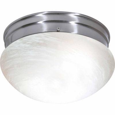 Filament Design 2-Light Brushed Nickel Flush Mount