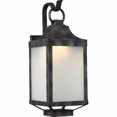 Filament Design 1-Light Iron Black Outdoor Wall Sconce - JCPenney