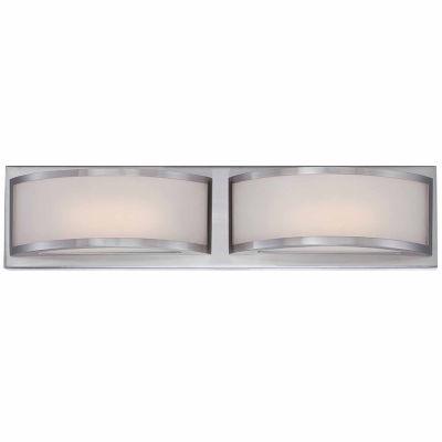 Filament Design 2-Light Polished Nickel Bath Vanity