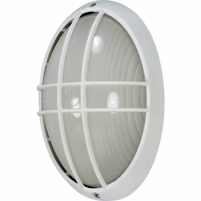 Filament Design 1-Light Semi-Gloss White Outdoor Wall Sconce