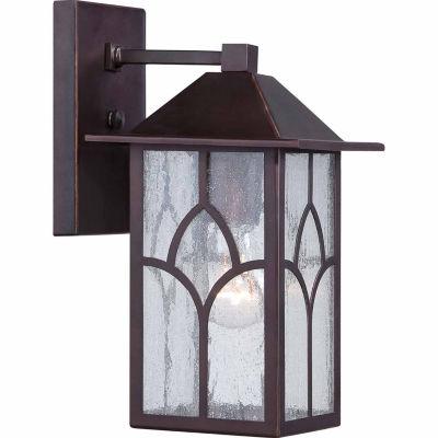 Filament Design 1-Light Claret Bronze Outdoor WallSconce