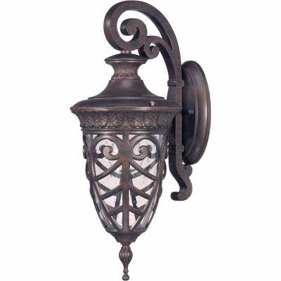 Filament Design 1-Light Dark Plum Bronze Outdoor Wall Sconce