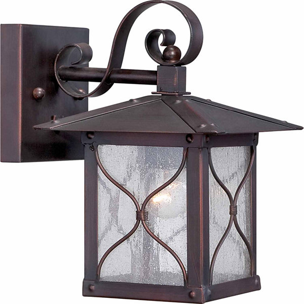 Filament Design 1-Light Classic Bronze Outdoor Wall Sconce