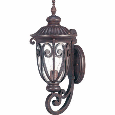 Filament Design 1-Light Burlwood Outdoor Wall Sconce