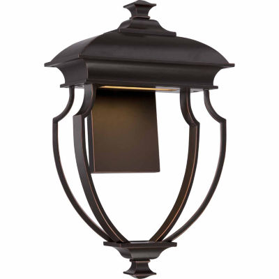 Filament Design 1-Light Mahogany Bronze Outdoor Wall Sconce