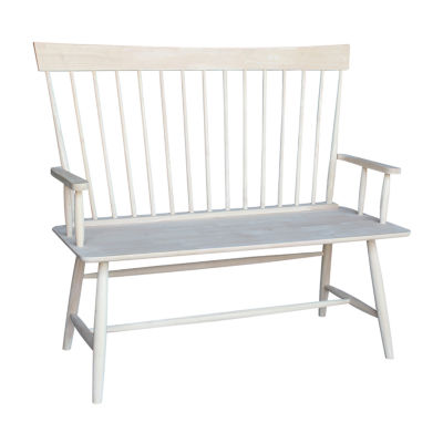 International Concepts Windsor Arm Bench