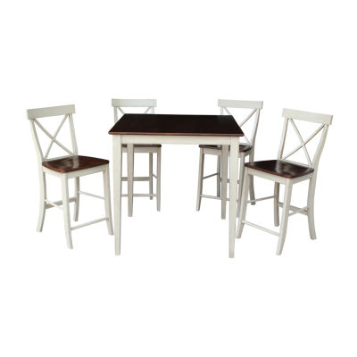 International Concepts Counter Height 5PC Dining Table Set