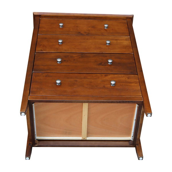 International Concepts 4 Drawer Chest