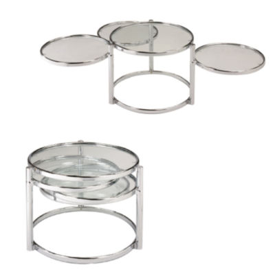 Motion Coffee Table With 3 Tiers