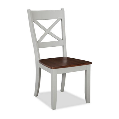 Covingting Set of 2 X-Back Chairs