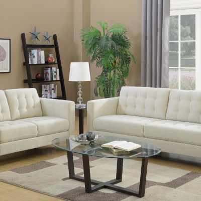 Liam Loveseat in Polyester Fabric