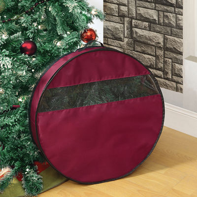 "Neu Home 24"" Wreath Holiday Storage Bag"