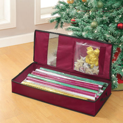 Neu Home Holiday Wrapping Paper Organizer