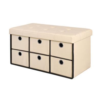 Bintopia™ 6-Drawer Storage Bench