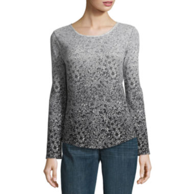 Liz Claiborne Long Sleeve Thermal- Talls
