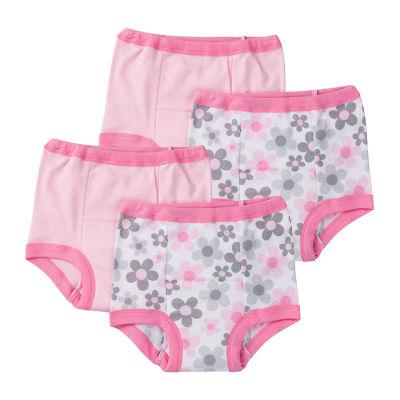 Gerber 4-Pk. Potty Training Pants - 18m Baby Girl