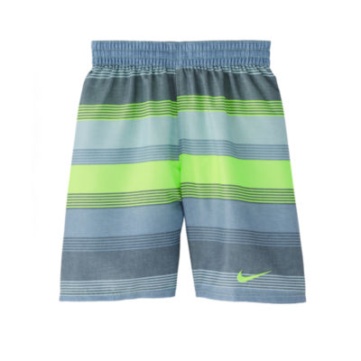 Nike Boys Stripe Trunks-Big Kid