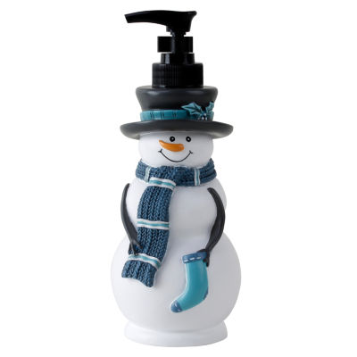 Saturday Knight Holiday Snowy Friends Soap Dispenser