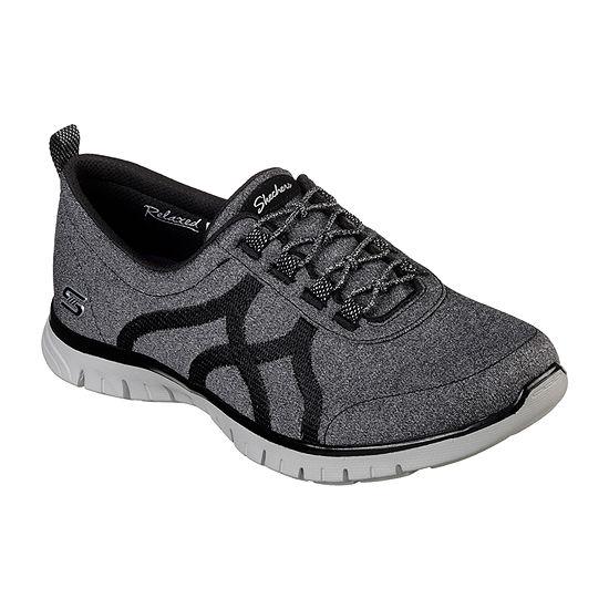 Skechers Ez Flex Womens Walking Shoes Slip-on