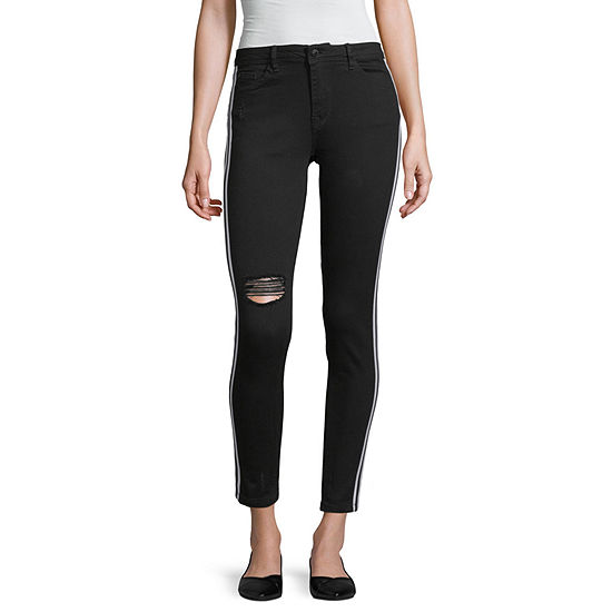 Almost Famous Womens Mid Rise Skinny Fit Jean - Juniors