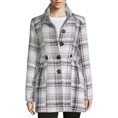 By&By Faux Wool Peacoat-Juniors