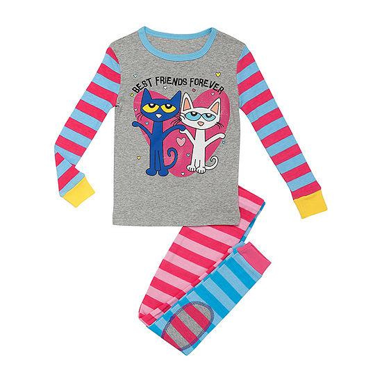 Pete The Cat 2-pc. Pant Pajama Set Preschool Girls