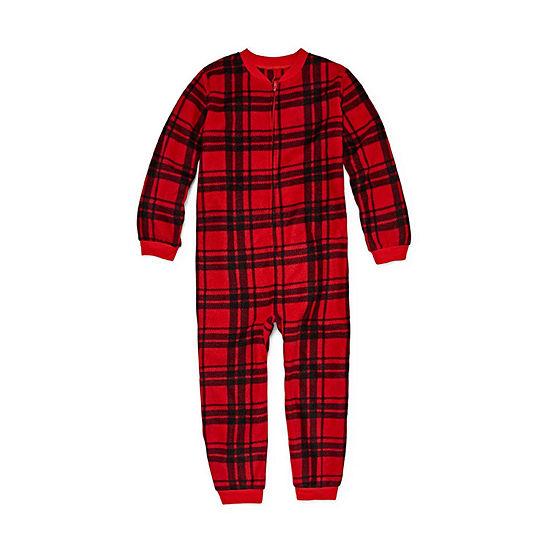 fe2d12064 Arizona Long Sleeve One Piece Pajama Big Kid Boys Husky JCPenney