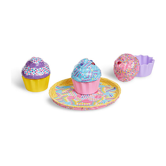 Melissa & Doug Decoupage Made Easy Deluxe Craft Set - Cupcakes Kids Craft Kit