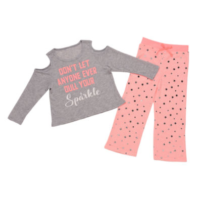 2-pc. Pant Pajama Set Preschool Girls