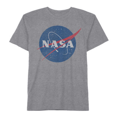 Nasa Little & Big Boys Crew Neck Short Sleeve Graphic T-Shirt