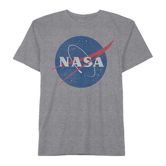 Nasa Little & Big Boys Crew Neck Short Sleeve Graphic T-Shirt