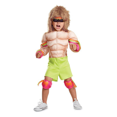 WWE  Ultimate Warrior Infant Muscle Costume 12-18MONTHS