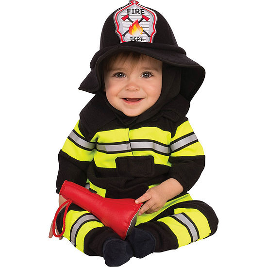 Baby/Toddler Fireman Costume (0-6 mos)