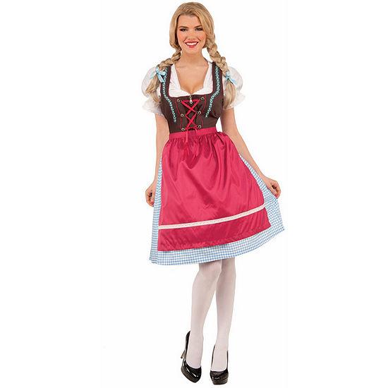 Womens Schatzi The Bavarian Girl Costume