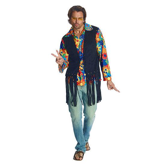 Mens Flower Power Hippie Costume 2-pc. Dress Up Costume