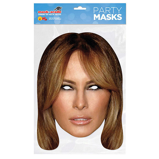 Paper Melania Mask Dress Up Accessory