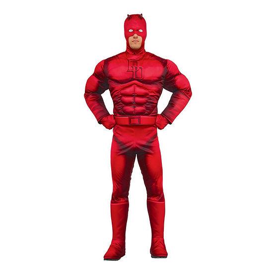 Marvel Mens Daredevil Deluxe Dress Up Costume