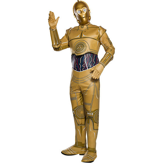 Star Wars Classic C-3po Adult Dress Up Costume 5-pc. Star Wars Dress Up Costume