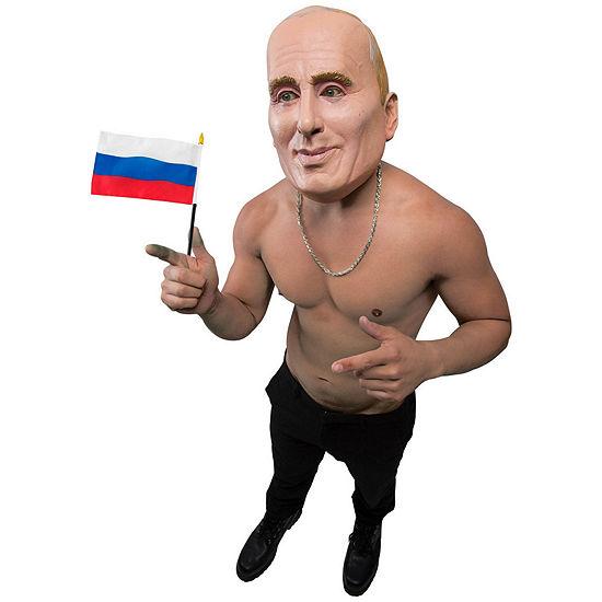 Putin Mask Dress Up Accessory