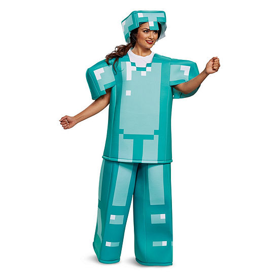 Prestige Minecraft Armor Adult Costume - One Size Fits Most
