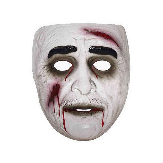 Buyseasons Transparent Zombie Mask Male Dress Up Accessory