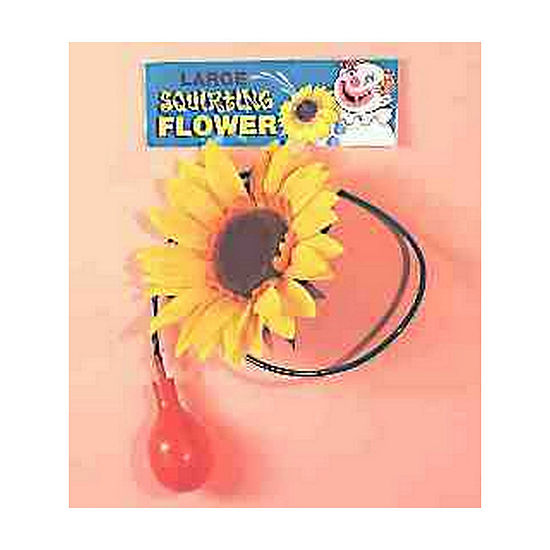 Squirting Clown Flower Dress Up Accessory