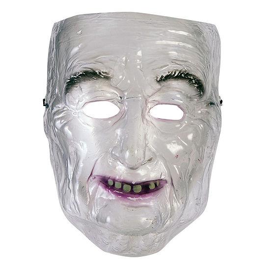 Transparent Mask - Old Man Dress Up Accessory