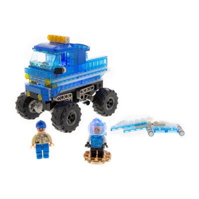Laser Pegs Monster Rally Destroyer Offroad Truck 200 Piece Construction Block Set